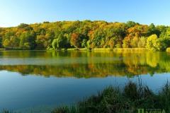 Осінь на одному із озер