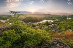 """Ранок в національному парку """"Бузький Гард"""". Фото: Dmytro Balkhovitin, CC BY-SA 4.0"""