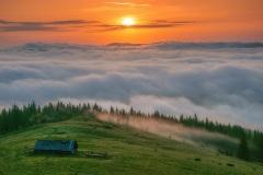 Ранок в Карпатському національному парку Фото: Haidamac, CC BY-SA 4.0